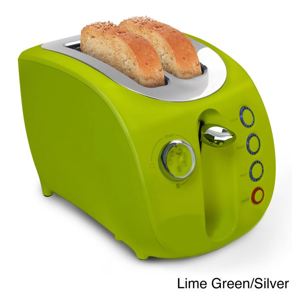 Shop Stylish 2 Slice Cool Touch Toaster Free Shipping