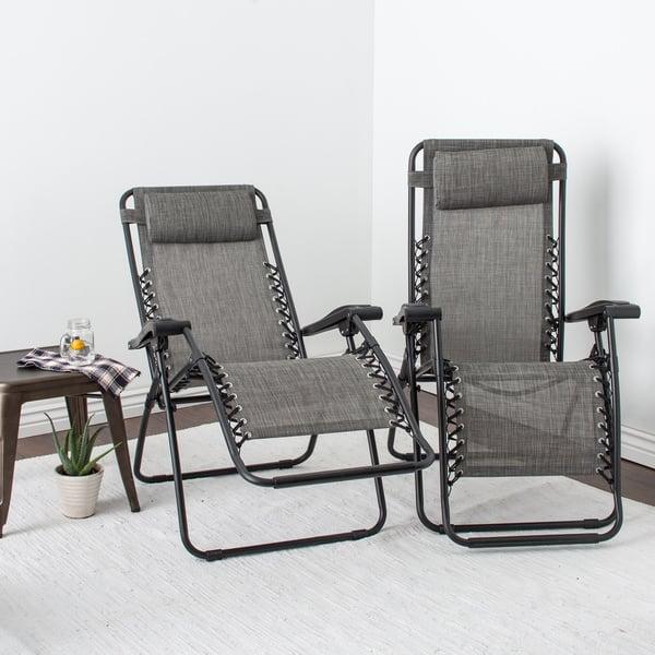 Miraculous Shop Caravan Sports Grey Infinity Zero Gravity Chair Pack Alphanode Cool Chair Designs And Ideas Alphanodeonline