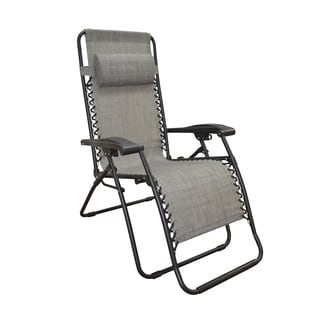 Caravan Canopy Grey Infinity Zero Gravity Chair