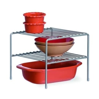 Organized Living Nickel Large Double Shelf