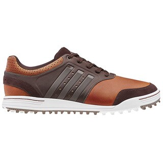 Adidas Mens Adicross III Spikeless Tan/ Brown Golf Shoes (As Is Item)