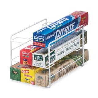 Organized Living White Kitchen Wrap Organizer