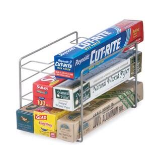 Organized Living Nickel Kitchen Wrap Organizer