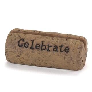 Cork 'Celebrate' Card Holder