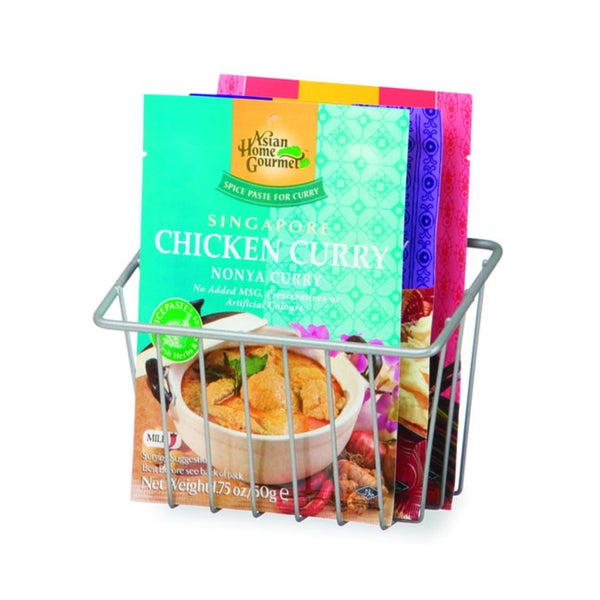 Organized Living Nickel Packet Basket