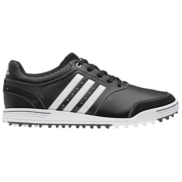 Adidas Mens Adicross III Spikeless Black/ White Golf Shoes