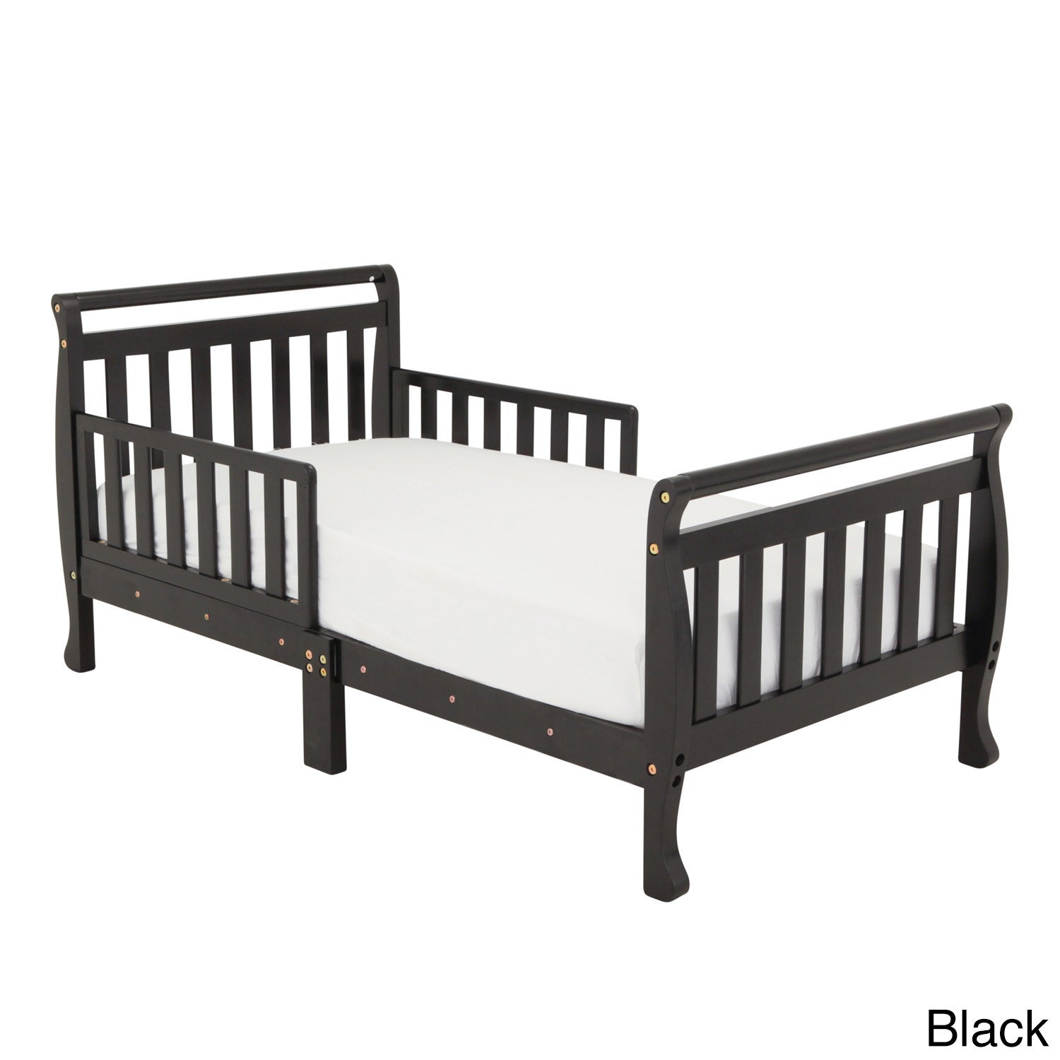 Details About Mikaila U0027Neridau0027 Wood Toddler Sleigh Bed