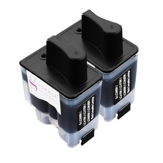 Sophia Global Compatible Ink Cartridge Replacement for Brother LC41 (2 Black) (Replacement)