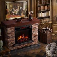 Urban Mountain Lodge Electric Fireplace Free Shipping