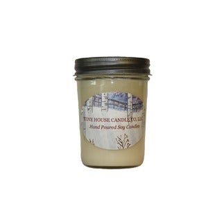 Scented Ivory 8-ounce Jelly Jar Soy Candle