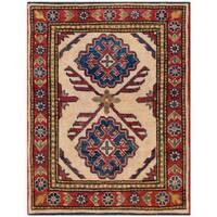 Herat Oriental Afghan Hand-knotted Kazak Wool Rug (2'3 x 2'11) - 2'3 x 2'11