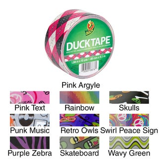 Patterned Duck Tape 1.88IN X 10yd