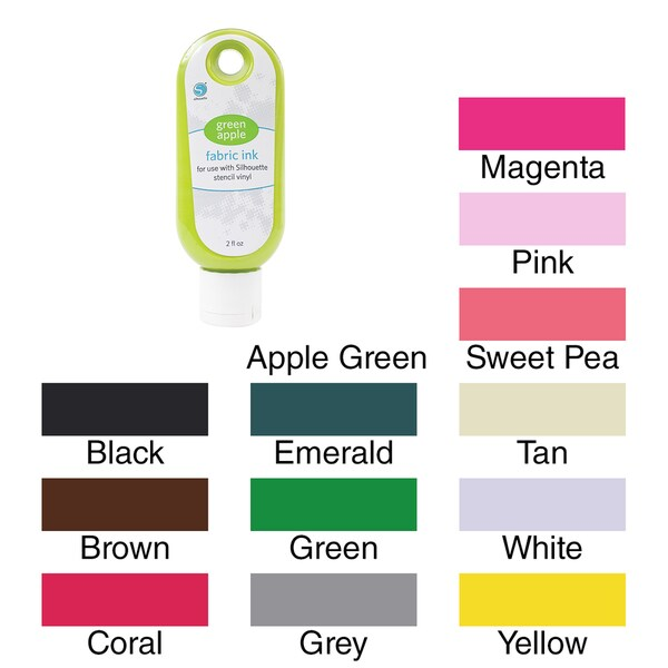 Silhouette Fabric Ink 2oz