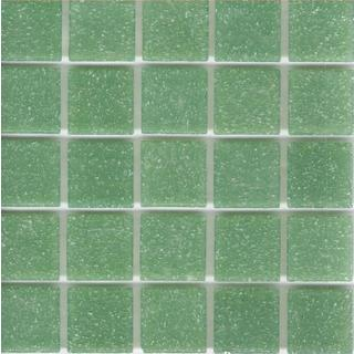 Brio 'Tarragon' 13x13-inch Glass Wall Tile (Pack of 20)