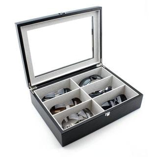 Heiden Black Leather Sunglasses Box