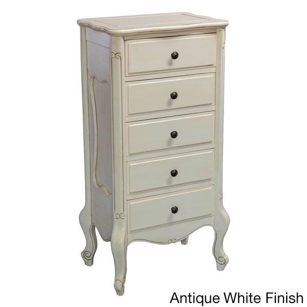 International Caravan Windsor Collection Carved Hardwood 5-drawer Dresser