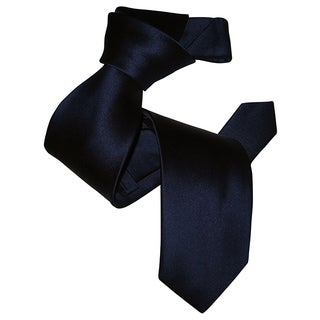 Dmitry Men's Navy Italian Silk Tie