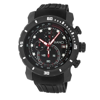 Roberto Bianci Men's Sports Chronograph Black Watch