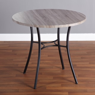 Simple Living Seneca Grey/ Black Height-adjustable Dining Table