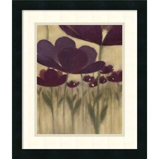 Framed Art Print 'Summer Bloom II' by Vittorio Maria 17 x 20-inch