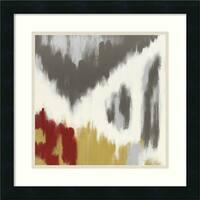 Framed Art Print 'Vibrant I' by Rita Vindedzis 18 x 18-inch
