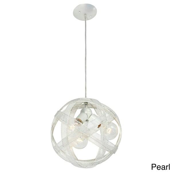 Varaluz At-Mesh-Sphere 3-light Pendant