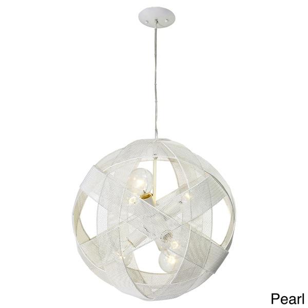 Varaluz At-Mesh-Sphere 6-light Pendant