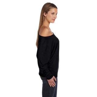 Bella Women's Off-shoulder Long Sleeve T-shirt