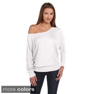 Bella Women's Off-shoulder Long Sleeve T-shirt