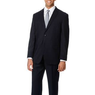 Caravelli Italy Men's 'Superior 150' Navy 2-button Suit