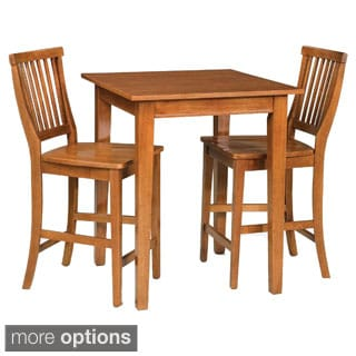 Arts and Crafts 3-piece Bistro Set by Home Styles