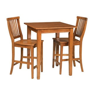 arts and crafts 3piece bistro set by home styles