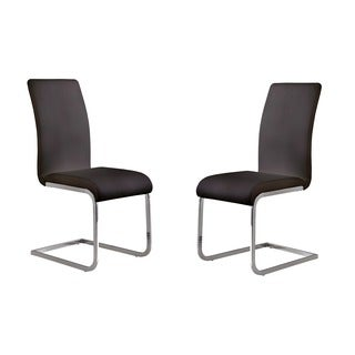 Armen Living Amanda Modern Dining Chair (Set of 2)