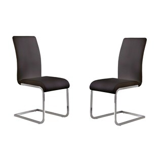 Strick & Bolton Rahl Modern Dining Chair (Set of 2)