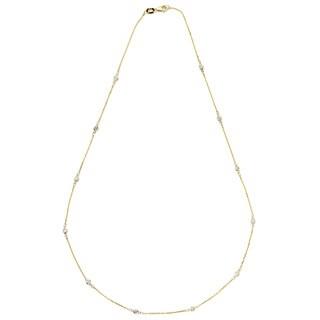 Neda Behnam 14k Yellow Gold 1/3ct TDW Diamond Necklace