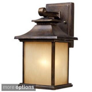 San Gabriel 1-light Hazelnut Bronze Outdoor Sconce