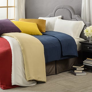 Elle & Alix Sand Washed Silk Duvet Cover