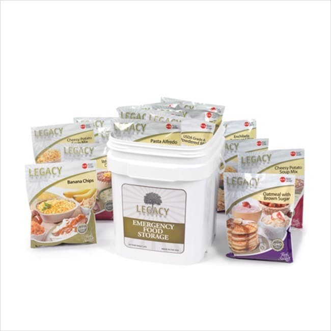 Legacy Premium Family 72-hour Emergency Food Survival Kit...