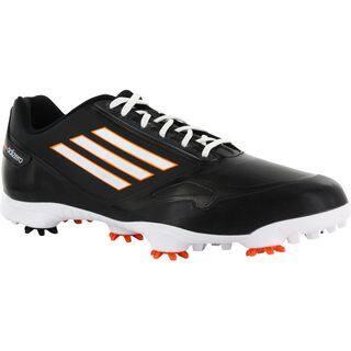 Adidas AdiZero One Men's Black/ White/ Zest Golf Shoes|https://ak1.ostkcdn.com/images/products/8797362/Adidas-AdiZero-One-Mens-Black-White-Zest-Golf-Shoes-P16034693.jpg?impolicy=medium