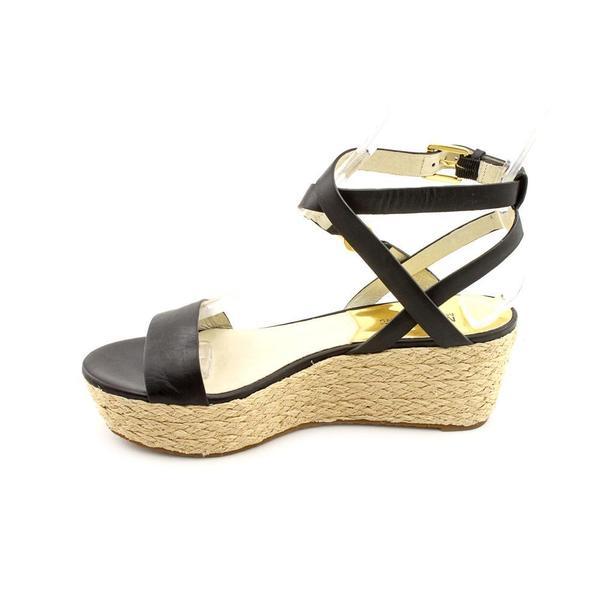 Shop Michael Kors Women's 'Jalita Charm Sandal' Leather