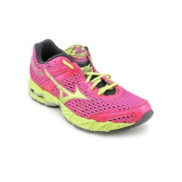 mizuno s wave precision 13 synthetic athletic shoe