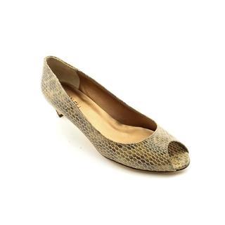Vaneli Women's 'Baxter' Animal Print Dress Shoes (Size 7.5 )