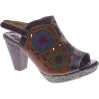 Women's L'Artiste by Spring Step Belen Brown Leather