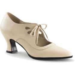 Women's Funtasma Victorian 03 Cream PU|https://ak1.ostkcdn.com/images/products/88/141/P17142715.jpg?impolicy=medium