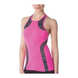 Women's Fila Fly Girl Tank Pink Surprise/Black Melange