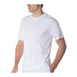 Men's Fila Fundamental Crew Neck Top White/White