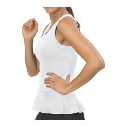 Women's Fila Peplum V-Neck Tank White