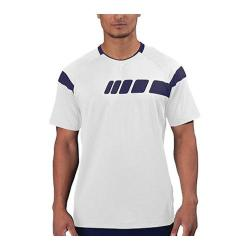 Men's Fila Platinum Laser Cut Top White/Navy Power