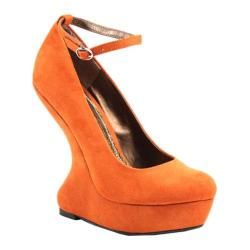 Orange Wedge Heels p8GAjimr