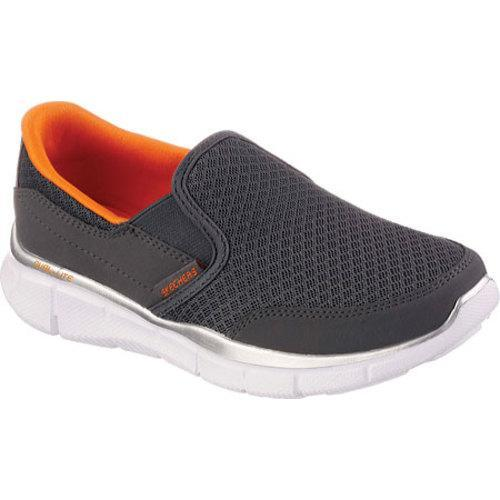 Shop Boys  Skechers Equalizer Persistent Charcoal Orange - Free Shipping On  Orders Over  45 - Overstock - 10000283 e0fca142b49